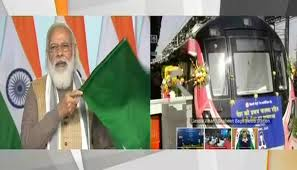 PM inaugurates India's first-ever driverless train operations on Delhi Metro's Magenta Line